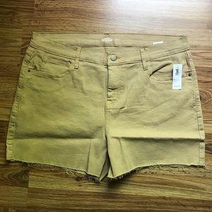New Old Navy Women's Boyfriend Cutoff Shorts 16